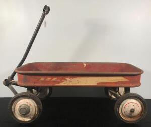 Rex Jet Pressed Metal Wagon