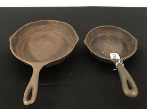 Wagner and Unmarked CI Skillets