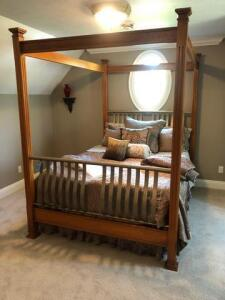 Lexington Queen size bed frame
