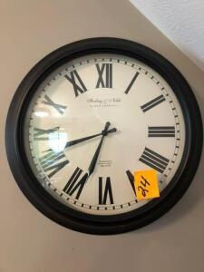 Sterling and Noble wall clock - 20""