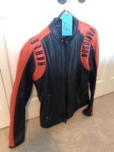Harley Davidson leather jacket - med