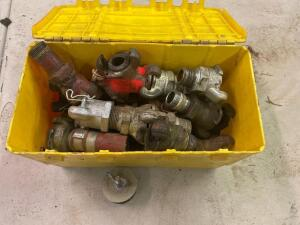 Assorted pneumatic fittings