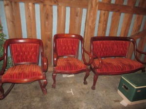 CHIPPENDALE FURNITURE SET