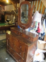 SMALL DRESSER WITH MIRROR - 2