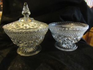 COVERED DISH AND PEDESTAL BOWL
