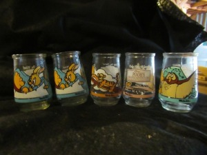 WELCHER'S COLLECTABLE WINNIE THE POOH JARS