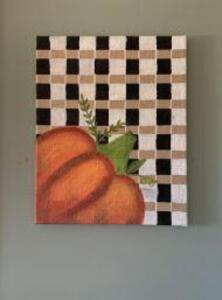 Hand painted Fall Wall Art