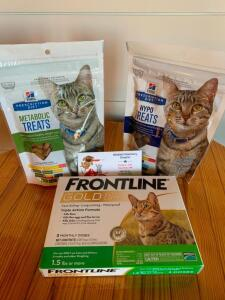 Cat Frontline and Treat Basket