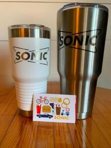 $25 Sonic Gift Card and Tumblers Package