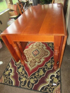 CHERRY DROP LEAF TABLE - SNR