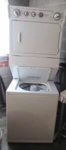 WHIRLPOOL STACK DRYER & WASHER- LDR
