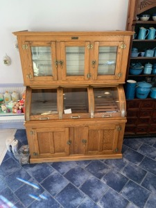 Antique General Store Icebox Refrigerator - McCray