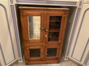 Oak Antique Ice Box
