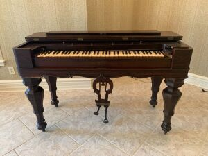 Antique Damper Piano / Traveling Preacher