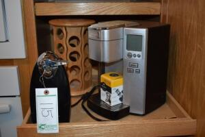 Cuisinart Coffee Maker, Spice Rack and Can Opener