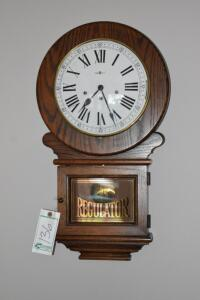 Howard Miller Regulator Wall Clock