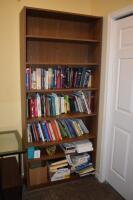 Book Shelf with Books- (2 bottom shelves not included)
