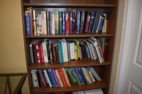 Book Shelf with Books- (2 bottom shelves not included) - 2