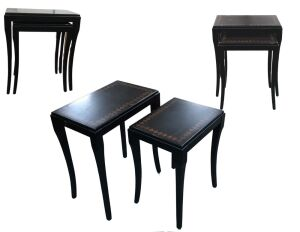 Nesting Tables-Tall: 21x24x13.5 Short: 17x22.5x14