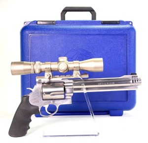 Smith & Wesson Model 460XVR .460 Revolver