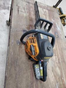 Poulan pro 50cc gas chainsaw with 20-in bar. Untested.