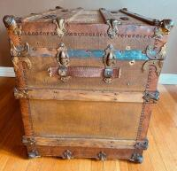 """The Drucker"" Antique Steamer Trunk - 6"