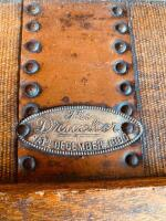 """The Drucker"" Antique Steamer Trunk - 7"