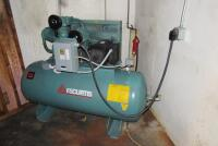 FS-Curtis Air Compressor, 120 gallon