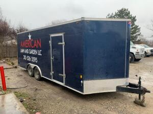 2018 Interstate Trailer Trailer, VIN # 1UK500J22J1093066