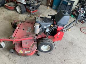 "52"" Exmarc Turf Tracer walk behind mower"