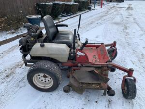 "60"" Exmarc zero turn lawn mower 2990 hours showing"