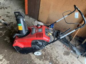 Toro single stage snow blower