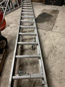 Werner 28ft extension ladder