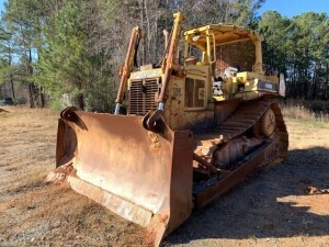 1991 CAT D6H - Updated with video and pics of root rake