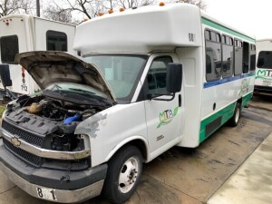 2012 Chevrolet 4500 Express Bus - INOP