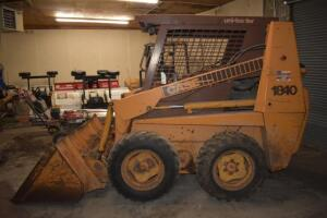 Case 1840 Skid Loader- PIN/JAF0046049, 1175 Hours