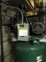 Champion Advantage Series 80 Gallon Air Compressor And Air Dryer, Model #CRN25A1, Bidder Responsible For Proper Disconnection And Removal, Hardwired In - 3