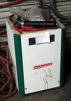 Champion Advantage Series 80 Gallon Air Compressor And Air Dryer, Model #CRN25A1, Bidder Responsible For Proper Disconnection And Removal, Hardwired In - 6