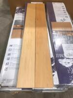 Approx 175 Sq Ft Wood Flooring Maple Natural
