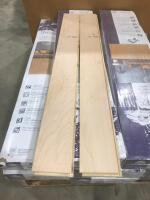 Approx 175 Sq Ft Wood Flooring Maple Natural - 2