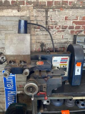 Ammco 3850 Brake Lathe w/ Twin Facing Tool (Buyer Responsible For Removal)