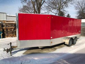 2005 R and R Snowmobile Trailer