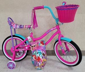 Fresh Beat Girls Bike and Helmet