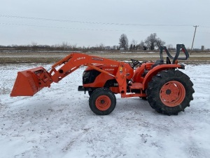 Kubota MX 5100 With Only 131 Hours!!!