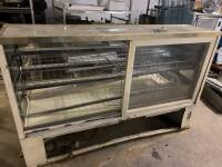 "Bakery Display Case - 76"" W x 38"" D x 48"" H - 3"