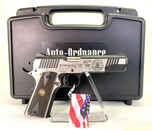 "Auto Ordnance ""45th Donald J. Trump"" 1911A1 .45 Pistol"