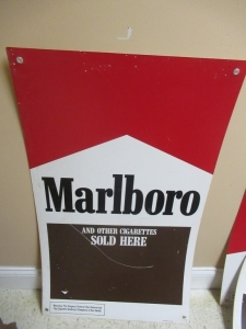 MARLBORO ADVERTISING SIGN -3