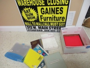 GAINES FURNITURE SIGN -3