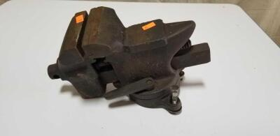 4 in bench vise