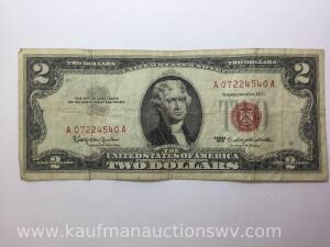 1963 Two Dollar Federal Reserve Note